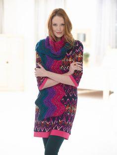 Crochet Ripple Scarf free pattern.