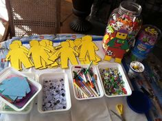 Lego craft for party