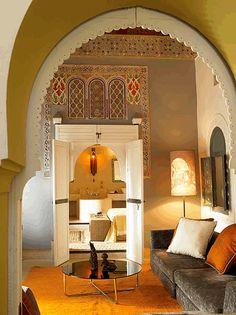 Maroc, szamárhátas ajtóív