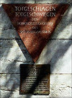 Berlin, Germany's commemorative memorial plaque at Nollendorfplatz, Berlin-Schöneberg, on the wall of the Underground Station, is a monument to Berlin's homosexual victims of the Nazis.
