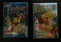 2 X  Winnie the Pooh & Tigger Playing Cards ~ NEW and UNOPENED~ Collectible Cards, Disney Theme, Tigger, Winnie The Pooh, Lunch Box, Playing Cards, Ebay, Bento Box, Pooh Bear