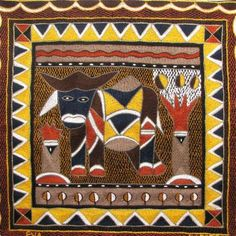Sunflower African Folklore Embroidery Kit Www