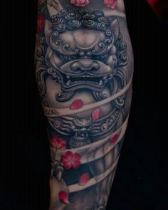 Foo dog In love with this tattoo!