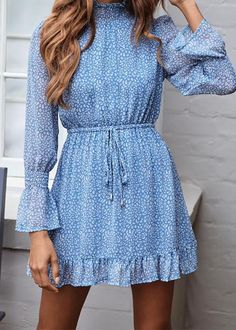 Come to take one!!! Long Sleeves Mini Dresses for the Autumn Buy 2 Get 15% OFF for Everything