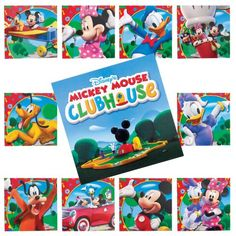 Mickey Mouse Clubhouse Matching Game Party Accessory $4.04
