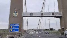 TAMAR BRIDGE APPROACHED FROM THE SALTASH SIDE-Cornwall