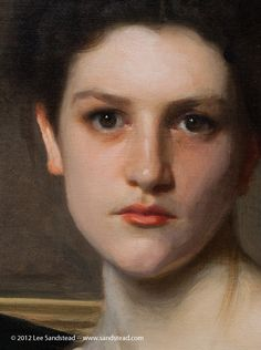 Sargent- best example of portrait painting. Purposeful use and knowledge of color is something you just can't teach