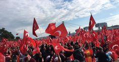+++ Großdemo in Köln im Ticker +++ - Köln-Demo endet mit Jubel für Erdogan (Focus Online)