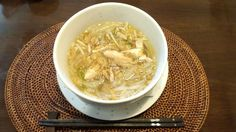 灘ベトナム料理、コアンアンボンの鶏のフォー。めちゃ美味しい。500円。