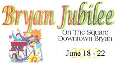 Celebrate the #Bryan Jubilee June 18th-22nd #OH05