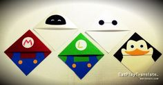 #PageCornerBookmarks #EVE #Baymax #PrivatethePenguin #Mario #Luigi #EatPlayTranslate