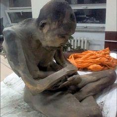 Um monge que foi encontrado mumificado na posição de lótus na Mongólia no fim de janeiro