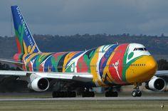 South African Airways 747-300
