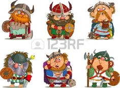 46195328-cartoon-vikings-funny-cartoon.jpg (350×258)