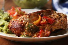 One-Pan Chicken Fajita Bombs