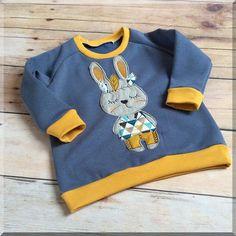 """Kapuzenpullis - Reglan Sweatshirt """"Indianer"""" Gr.86-134 unisex - ein Designerstück von Feenland bei DaWanda"""