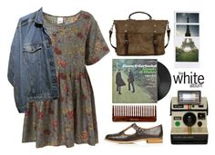 Music Outfit #1 by animam-iniusti on Polyvore featuring moda, Topshop, Ally Capellino, Polaroid and vintage