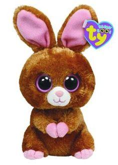 1394d47b372 Hopsin Brown Bunny Beanie Boo 6 inch Plush Beanie Boos Names