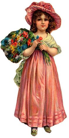 Victorian Die Cut Scrap http://www.pinterest.com/olliegizmo/ephemera-child/: