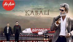 ஏர் ஏஷிய விமானங்களில் #கபாலி பிரியாணி! #kabali #Rajini #Thanu