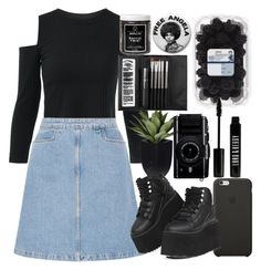 """""""Untitled #188"""" by classychica237 ❤ liked on Polyvore featuring M.i.h Jeans, Sephora Collection, Black Apple, Little Barn Apothecary, Y.R.U. and Lord & Berry"""