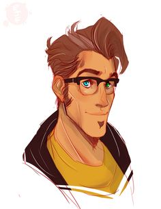 starfleetspectre:  timmy with glasses