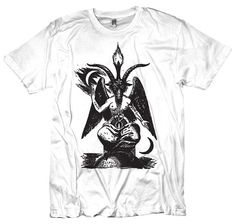 Baphomet Tshirt by diatonic on Etsy, $15.00