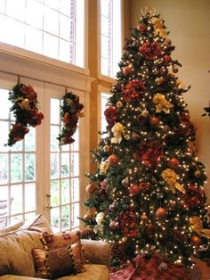 french country christmas decorating ideas | & GOLD TUSCAN CHRISTMAS! - Living Room Designs - Decorating Ideas ...