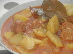 Un plato de cuchara Rico, rico!!! http://www.hierbabuenaypimienta.com/2012/05/patatas-la-riojana.html