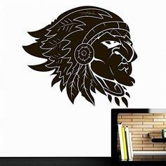 Vinyl Wall Decal Sticker Indian Head Feathers Hat Symbol Face Man Bedroom A20 Sticker'Shop http://www.amazon.com/dp/B0195A3X0E/ref=cm_sw_r_pi_dp_dovAwb0D9TASF
