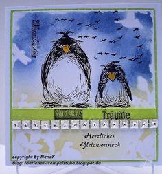 Marlenes Stempelstube: Geburtstagkarte
