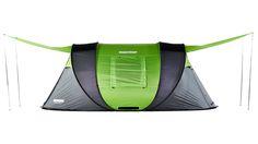 The world's most advanced pop-up tent – solar power, heat regulation, LED…