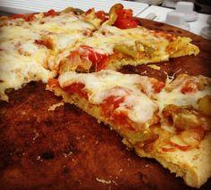 Healthy Homemade Paleo GF Pizza!
