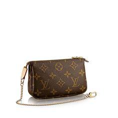 Mini Pochette Women's Luxury Monogram Canvas Bag | LOUIS VUITTON