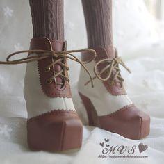 Sapatos boneca bjd terzo menina, SD13 / SD16 botas curtas, sapatos de salto alto, Volks DD Leeke