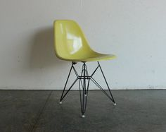 what a great color of the classic eames chair!
