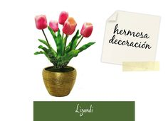 Arreglos florales: Las flores son hermosas herramientas para la decoración del hogar y los tulipanes, en especial, irradian belleza, sencillez y color. #amolasflores #floristerializardi