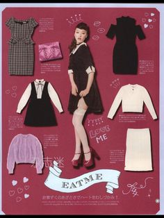 Gal Coordinates — If you're into the sweet girly trend/ larme kei...