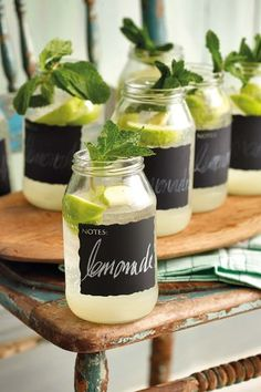 Tuisgemaakte limonade | Home made DIY lemonade  #drinks