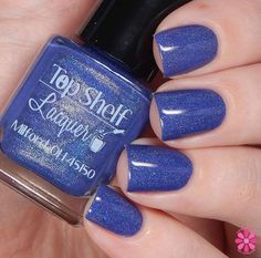 This listing is for one bottle from the Margarita Time Collection. Moonlight Margarita: Rich crème periwinkle / blurple with a linear holo flair The full size bottles are approximately 0.50 oz / 15 ml