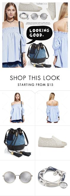 """""""Casual Chic"""" by pokadoll ❤ liked on Polyvore featuring See by Chloé, ESPRIT, Linda Farrow, Lizzy James, polyvoreeditorial, polyvorefashion and polyvoreset"""