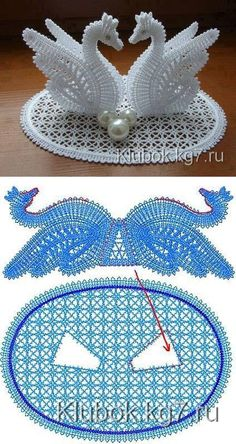 Best 10 Floral crochet doily with swans-holiday doily – SkillOfKing. Crochet Lion, Crochet Art, Crochet Home, Crochet Motif, Crochet Crafts, Crochet Doilies, Crochet Flowers, Crochet Projects, Diy Crafts
