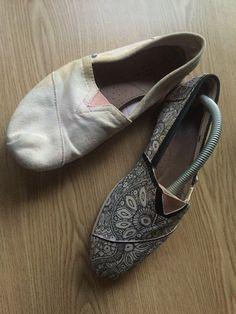 Doodle - firkálás Toms shoes