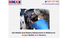Get expert mobile auto battery replacement in Melbourne from Budget Mobile Auto Electrics. We committed to providing our customers with excellent personalised service. Auto electricians all over the greater Melbourne area. There are so many cowboys in the car fixing industry that it's often hard to tell who to trust. For more Information, Please contacts us. Budget Mobile Auto Electrics, 3 Wild Scotchman Way, Melbourne, VIC 3977, Mobile: 0407937086, http://www.bmautoelec.com.au/