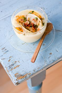 Thai Clam Chowder http://tartineandapronstrings.com/