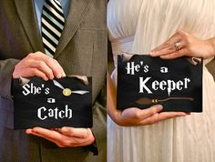 She's a Catch/He's a Keeper Engagement/Wedding *printables*