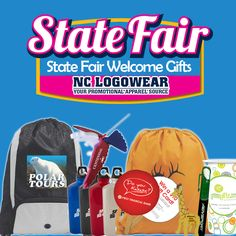 are always on the list in planning the state fair. Promote your products and services with that many will surely grab. Nc Logo, Welcome Gifts, Web Development, Promotion, Birthday, Party, Products, Birthdays, Parties