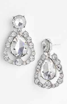 kate spade new york 'grand debut' drop earrings available at #Nordstrom