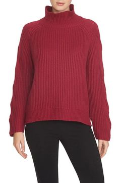 1.STATE Cable Knit Turtleneck Sweater | Nordstrom