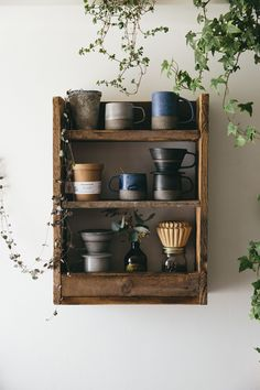 We are more than a little obsessed with simple, beautiful and functional ceramics and fell in love with these pieces the moment we saw them. Modern, natural, simple and honest, reinterpreting traditional Korean Pottery, the first thing we did was put them all on our rustic wooden pallet shelf!